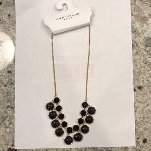 Ann Taylor statement necklace NWT